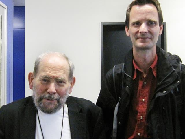 Sydney Brenner und Helge Groshans