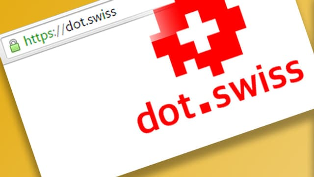 Screenshot der Internet-Seite dot.swiss