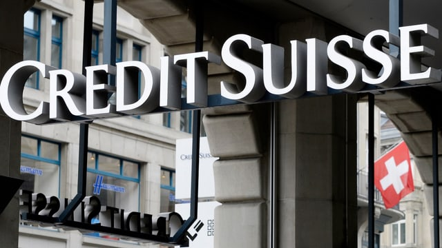 Logo Credit Suisse.