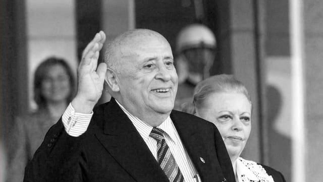 Süleyman Demirel, anteriur primminister da la Tirchia