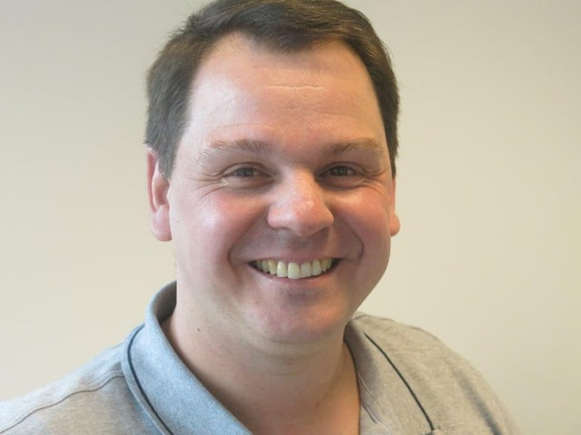 Frédéric Fournier ist der leitende Pflegefachmann der mobilen Einheit Voltigo.