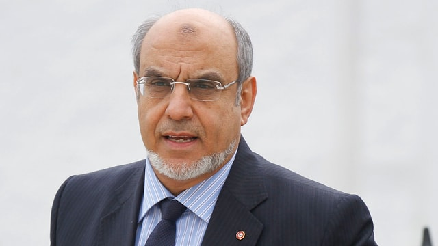 Ministerpräsident Hamadi Jebali droht mit Rücktritt.