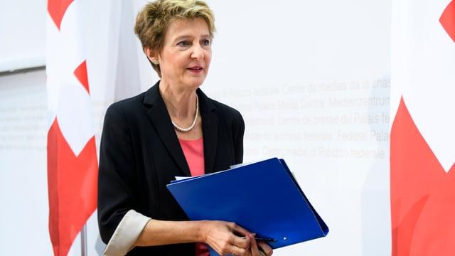 Cussegliera federala Simonetta Sommaruga