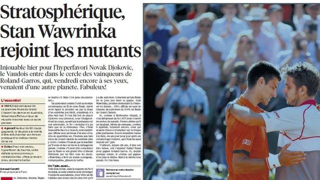 Wawrinkas überragender Auftritt im French-Open-Final.