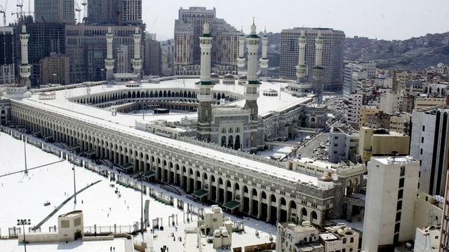 La Gronda moschea a Mecca.