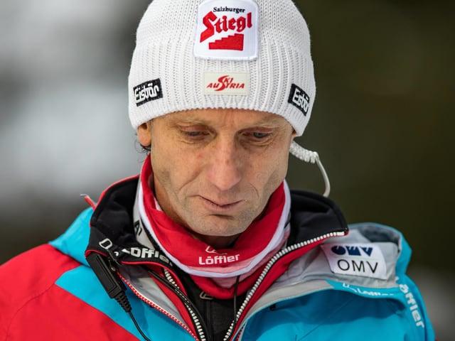 Österreichs Skispringer-Coach Heinz Kuttin.