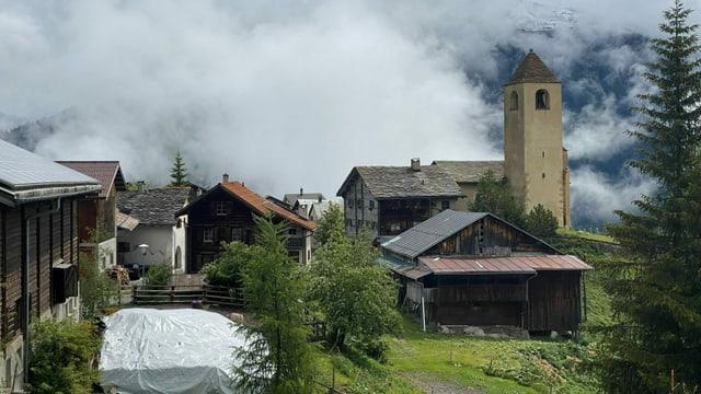La vischnanca da Lon ch'ha stgers 50 abitants è ina da las vischnancas da fusiun.