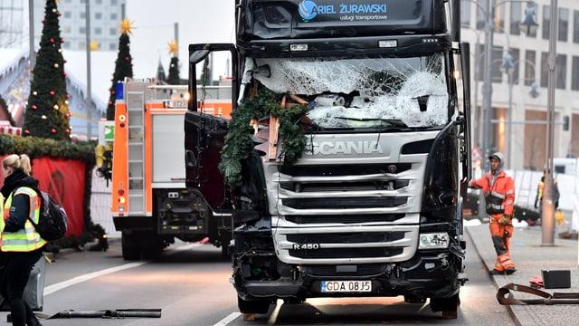 Zwölf Tote und mehr als 50 Verletzte. Dies die Bilanz des Anschlags auf den Weihnachtsmarkt.