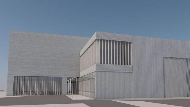Visualisaziun dal nov bajetg da la scola professiunala industriala a Glion.