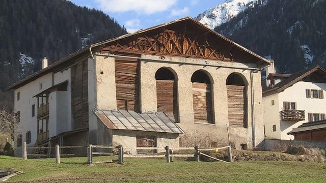 La stalla da la chasa Parli a Santa Maria in Val Müstair