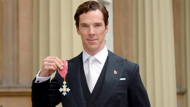 Benedict Cumberbatch ist jetzt Träger des «Order of the British Empire»