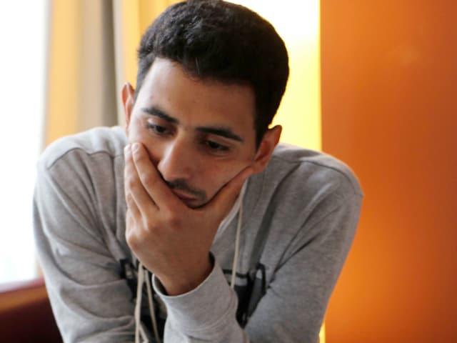 Ein Porträt von Aeham Ahmad.