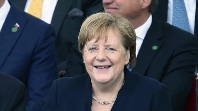 Angela Merkel: «Geschenk der Geschichte»