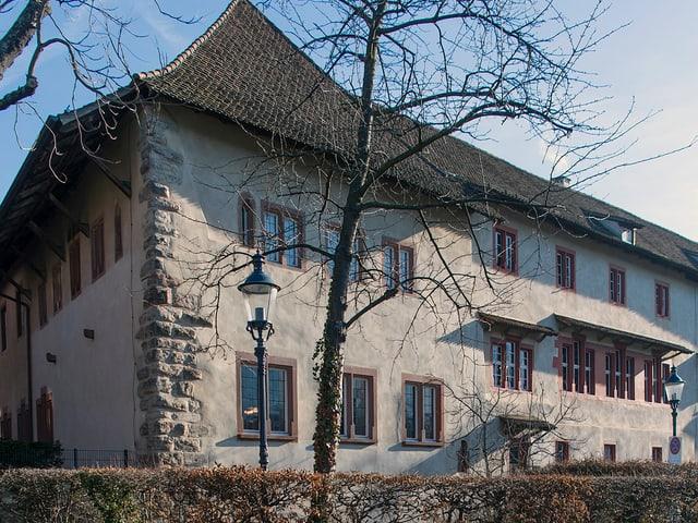 Blick von Aussen auf das Kleine Klingental, ein spätermittelalterlicher Bau