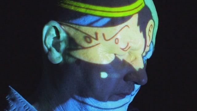 Kapitän Haddock: Wie die Comic-Figur lässt sich Cueni durchs Schicksal nicht vom Weg abbringen