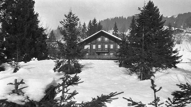 Gstaader Villa von Axel Springer.