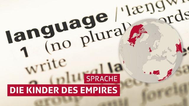 "Ausschnitt Wörterbuch ""Language"""