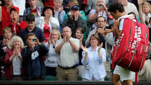 Roger Federers Ausscheiden hatte am Mittwoch niemand erwartet.