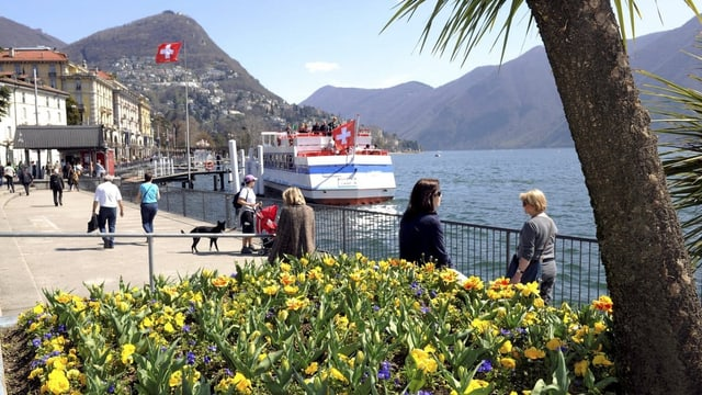 Seepromenade von Lugano