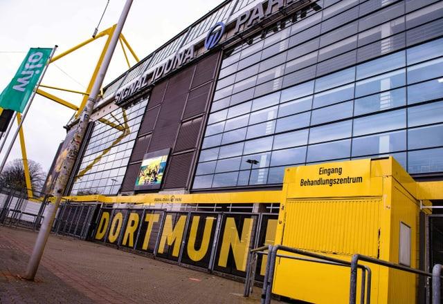 Das Dortmunder Stadion diente während der Corona-Krise als Behandlungszentrum.