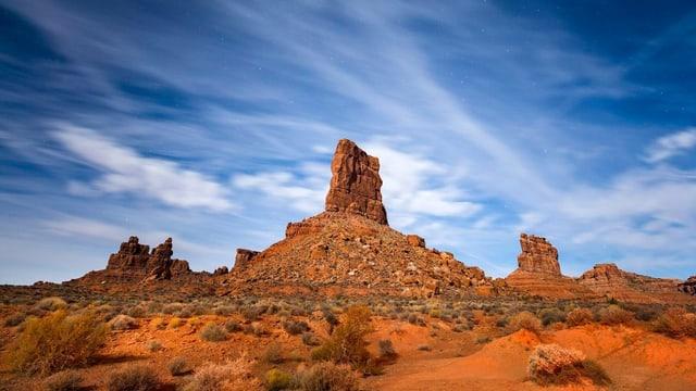 Felsformationen im Monument Valley.