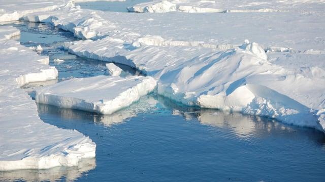 Arktisches Eis.