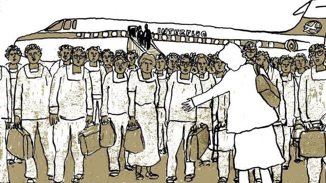 Ausschnitt aus dem Comic «Madgermans»