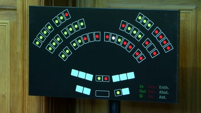 Screenshot Abstimmung