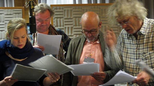 Schauspieler im Studio