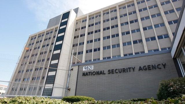 Gebäude der US-Behörde der National Security Agency