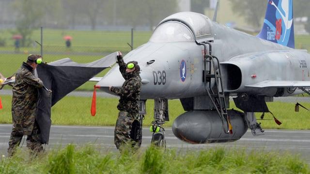 Ein Tiger-Kampfjet