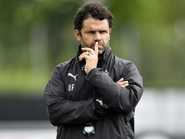 Uli Forte soll GC durch die Challenge-League-Saison führen.