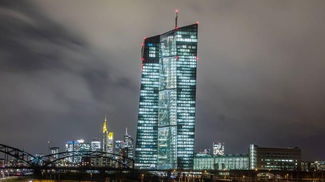 La centrala da la banca centrala europeica a Frankfurt (D).