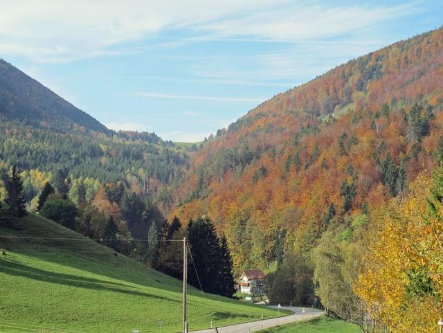 Sicht auf den Subigerberg.