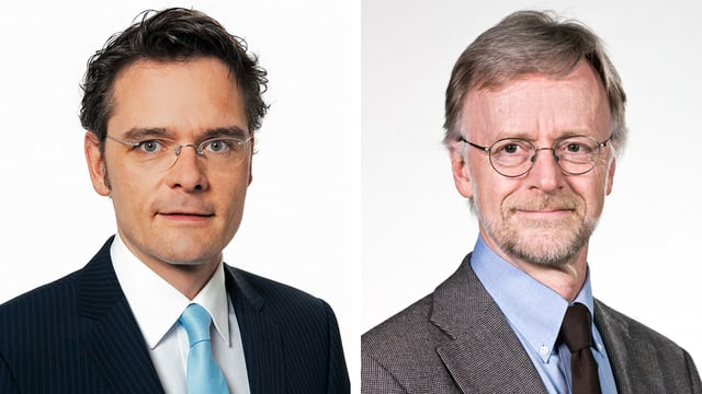 Stefan Reinhart und Casper Selg