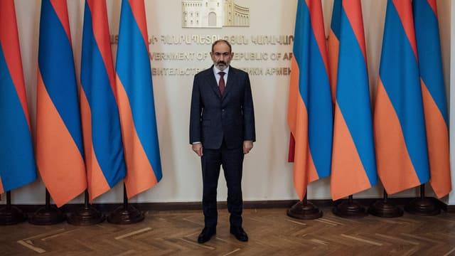 Armeniens Regierungschef Nikol Paschinjan wird von Teilen des Volkes heftig kritisiert.