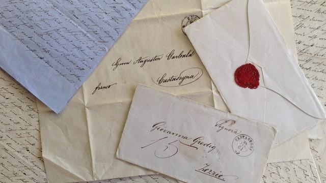 Documents e brevs veglias ed anticas.