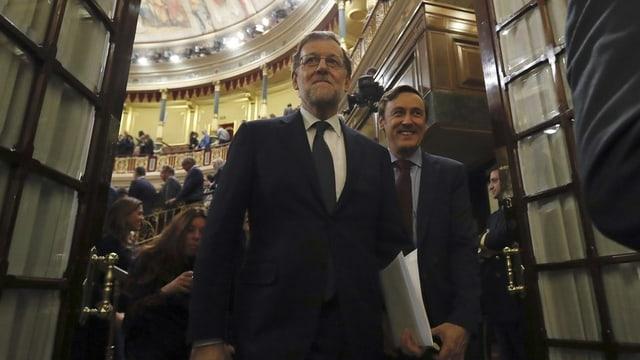 Po puspè surpigliar la batgetta: Mariano Rajoy.