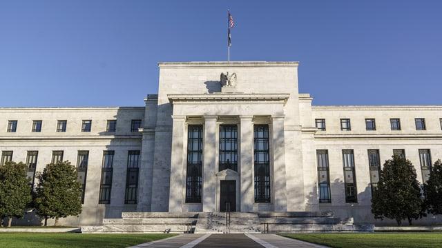 Hauptsitz des US-Notenbank FED
