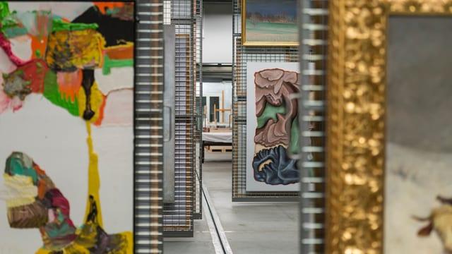 La collecziun d'art da la Confederaziun cumpeglia oz 21'000 ovras.