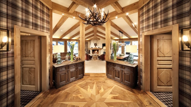 Penthouse-Wohung im Palace Gstaad