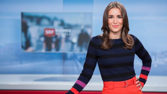 Bigna Silberschmidt, Moderatorin «Schweiz aktuell»