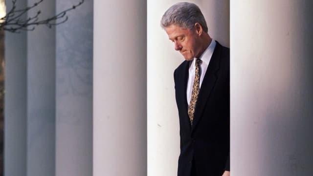 Der ehemalige US-Präsident Bill Clinton sah sich ebenfalls mit einem Amtsenthebungsverfahren konfrontiert.