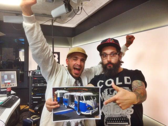Andi Rohrer und Dodo küren den steilsten Hippie-Bus der Schweiz