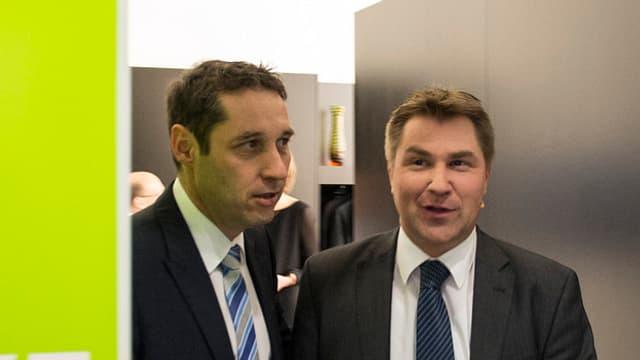 Urs Wieder e Toni Brunner