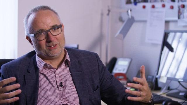 Notfallpsychiater Gregor Berger leistet erste Hilfe für Jugendliche in Krisensituationen