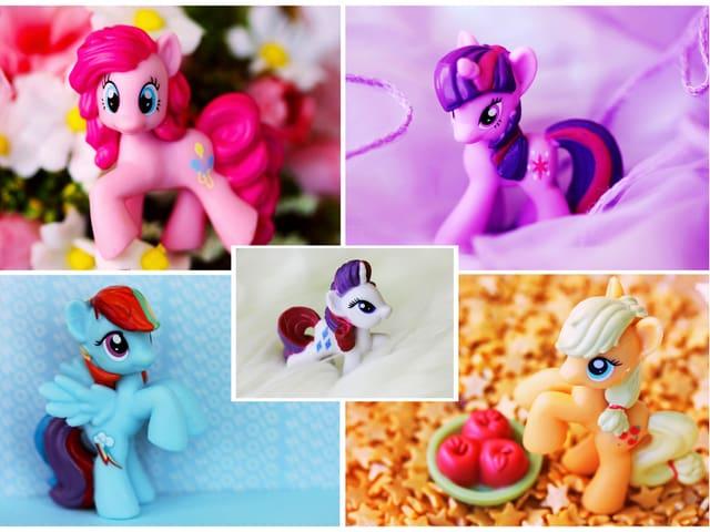 Die fünf wichtigsten «My Little Pony»-Protagonistinnen.