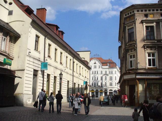 Häuser und eine Strasse