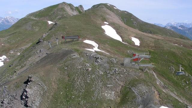 Visualisierung der neuen Bergstation der Gondelbahn über das Urdental.