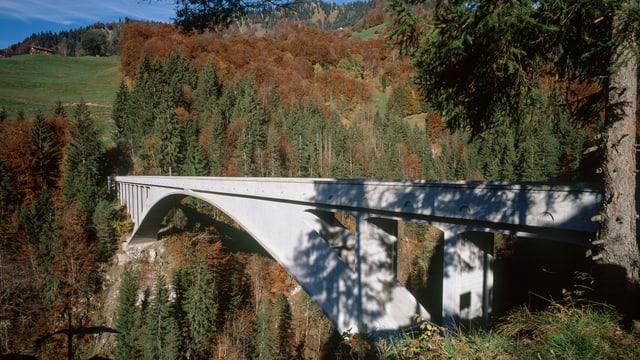 Die Bogenbrücke bei Schiers